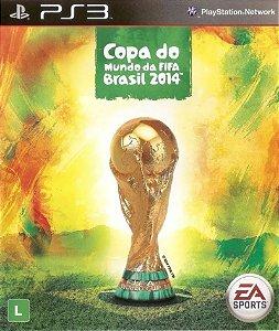 Jogo PS3 Usado Copa do Mundo FIFA Soccer Brasil 2014
