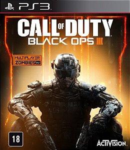 Jogo PS3 Usado Call of Duty Black Ops 3