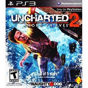 Jogo PS3 Usado Uncharted 2: Among Thieves
