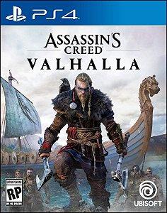 Jogo Assassin's Creed Valhalla PS4 Novo