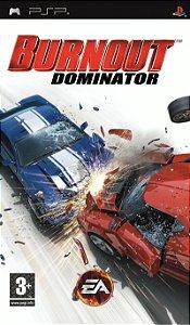 Jogo Burnout Dominator PSP Usado