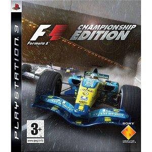 Jogo Formula 1 Championship Edition PS3 Usado