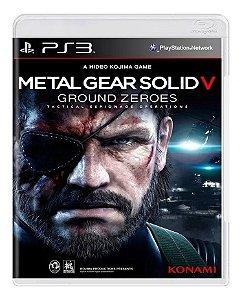 Jogo Metal Gear Solid V: Ground Zeroes PS3 Usado