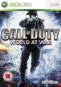 Jogo XBOX 360 Usado Call of Duty World At War