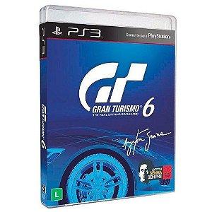 Jogo PS3 Usado Gran Turismo 6