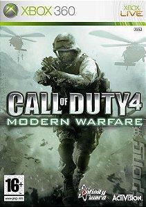 Jogo XBOX 360 Usado Call Of Duty Modern Warfare
