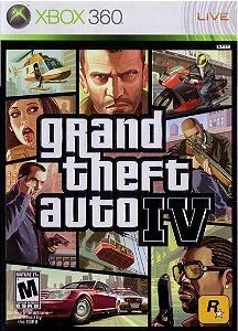 Jogo XBOX 360 Usado Grand Theft Auto IV