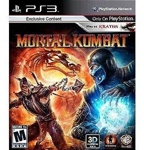 Jogo PS3 Usado Mortal Kombat