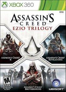 Jogo XBOX 360 Usado Assassin's Creed The Ezio Trilogy