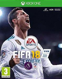 Jogo XBOX ONE Usado FIFA 18