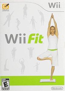 Jogo Nintendo Wii Usado Wii Fit