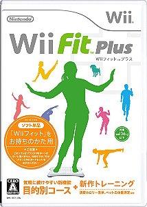 Jogo Nintendo Wii Usado Wii Fit Plus (JP)