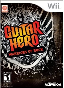 Jogo Wii Usado Guitar Hero Warriors of Rock