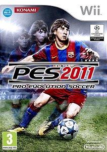 Jogo Wii Usado Pro Evolution Soccer 2011