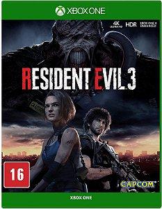 Jogo XBOX ONE Usado Resident Evil 3