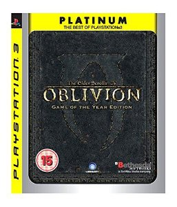 Jogo PS3 Usado The Elder Scrolls IV Oblivion Game of the Year Edition