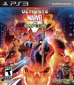 Jogo PS3 Usado Ultimate Marvel vs Capcom 3
