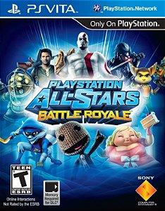 Jogo PSVITA Usado PlayStation All-Stars Battle Royale