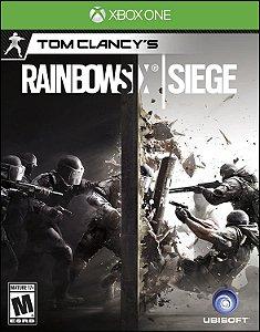 Jogo XBOX ONE Usado Rainbow Six Siege