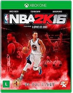 Jogo XBOX ONE Usado NBA 2K16