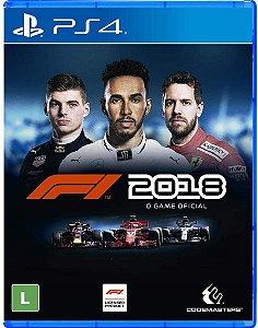 Jogo PS4 Usado F1 2018