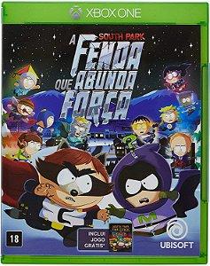Jogo XBOX ONE Usado South Park A Fenda Que Abunda Força