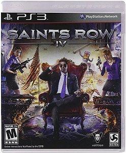 Jogo PS3 Usado Saints Row IV