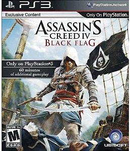 Jogo PS3 Usado Assassin's Creed Black Flag