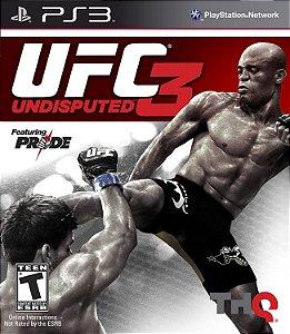 Jogo PS3 Usado UFC Undisputed 3