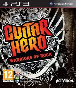 Jogo PS3 Usado Guitar Hero Warrios of Rock