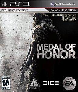 Jogo PS3 Usado Medal Of Honor