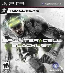 Jogo PS3 Usado Tom Clancy's Splinter Cell Blacklist