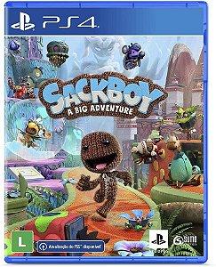 Jogo PS4 Novo Sackboy Uma Grande Aventura