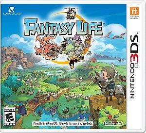 Jogo Nintendo 3DS Usado Fantasy Life