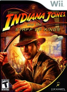 Jogo Nintendo Wii Usado Indiana Jones and the Staff of Kings