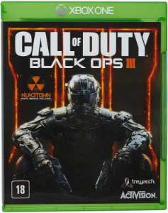 Jogo XBOX ONE Usado Call of Duty Black Ops 3