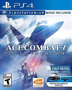 Jogo PS4 Usado Ace Combat 7 Skies Unknown