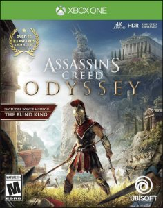 Jogo XBOX ONE Novo Assassin's Creed Odyssey