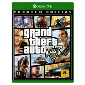 Jogo XBOX ONE Novo Grand Theft Auto V Premium Online Edition