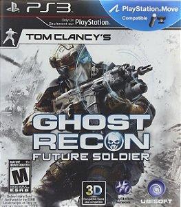 Jogo PS3 Usado Tom Clancy's Ghost Recon Future Soldier