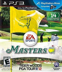 Jogo PS3 Usado Tiger Woods PGA Tour 12