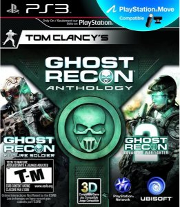 Jogo PS3 Tom Clancy's Ghost Recon Anthology