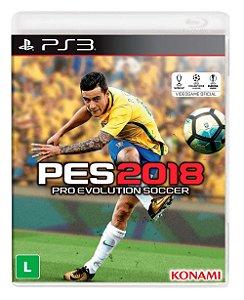 Jogo PS3 Usado PES 2018
