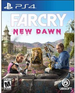 Jogo PS4 Usado Far Cry New Dawn