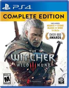 Jogo PS4 Novo The Witcher 3 Wild Hunt Complete Edition