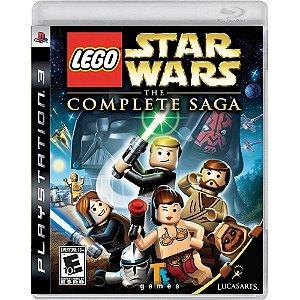 Jogo PS3 Usado  LEGO Star Wars The Complete Saga