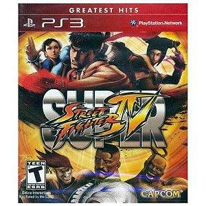 Jogo PS3 Usado Super Street Fighter IV