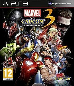 Jogo PS3 Usado Marvel vs. Capcom 3