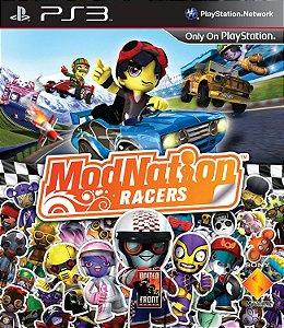 Jogo PS3 Usado Modnation Racers