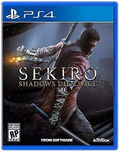 Jogo PS4 Usado Sekiro Shadows Die Twice
